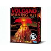 Brinquedo Científico Kit Construa seu Vulcão