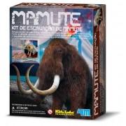 Brinquedo Científico Kit de Escavação de Esqueleto de Mamute