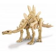 Brinquedo Científico Kit Escavação de Esqueleto Estegossauro
