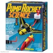 Brinquedo Científico Kit Lança Foguete
