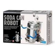 Brinquedo Científico Robótica Robô Latinha