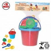 Brinquedo de Areia Conjunto Praia Maluquinha