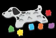 Brinquedo de Madeira Animais Didáticos Cão