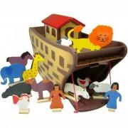 Brinquedo de Madeira Arca de Noé