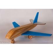 Brinquedo de Madeira Avião Boeing