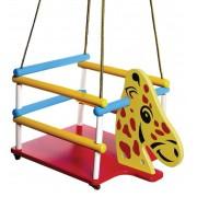 Brinquedo de Madeira Balanço Girafinha