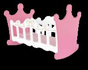 Brinquedo de Madeira Berço de Boneca Princesas