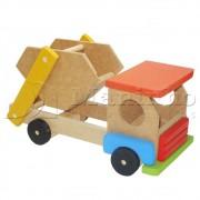 Brinquedo de Madeira Caminhão Disk Entulho