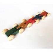 Brinquedo de Madeira Carrinho do Zig Zag