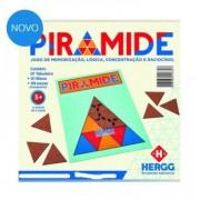 Brinquedo de Madeira Desafio PRM Pirâmide