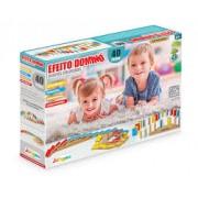 Brinquedo de Madeira Efeito Dominó 40 Peças Junges.