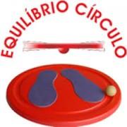 Brinquedo de Madeira Equilíbrio Círculo
