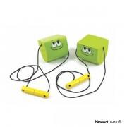 Brinquedo de Madeira Equilibrista Verde