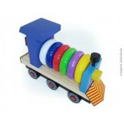 Brinquedo de madeira Expresso Piuííí