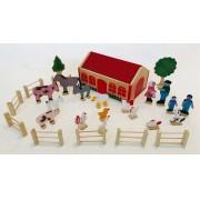 Brinquedo de Madeira Fazenda