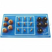 Brinquedo de Madeira Jogo da Velha Bola