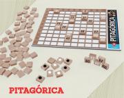 Brinquedo de madeira Jogo Desafio PTG 30 Pitagorica