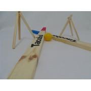 Brinquedo de Madeira Jogo Tacobol Modelo 2