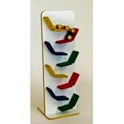 Brinquedo de Madeira Kit Carrinho Mini Zig Zag