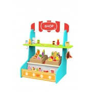 Brinquedo de Madeira Kit Quitanda Médio