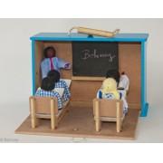 Brinquedo de Madeira Maleta Escola