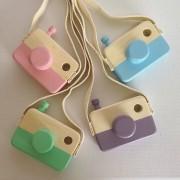 Brinquedo de Madeira Maquinha Fotografica Coleção Click