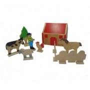 Brinquedo de Madeira Mini Fazenda