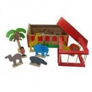 Brinquedo de Madeira Mini Zoológico