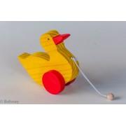 Brinquedo de Madeira Pato de Puxar