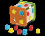 Brinquedo de Madeira Super Cubo Didático