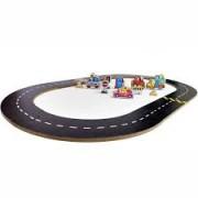Brinquedo de Madeira Super Pistinha de Carros