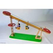 Brinquedo de Madeira Teleférico