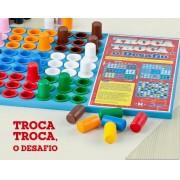 Brinquedo de madeira Troca Troca o Desafio
