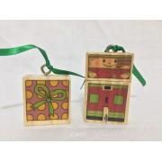 Brinquedo de Montar de Madeira Duende Verde Kitopeq