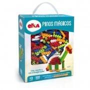 Brinquedo de montar Pinos Mágicos com 500 peças