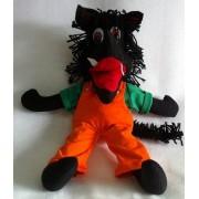 Brinquedo de Pano Boneco Lobo