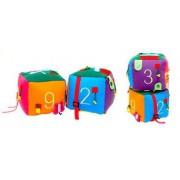 Brinquedo de Pano Cubo Atividades