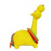 Brinquedo de Pano Girafa Com Argolas Pequena