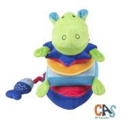 Brinquedo de Pelúcia Hipopótamo de Encaixe