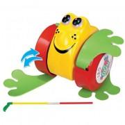 Brinquedo de Puxar Rã na Solapa Sortidos
