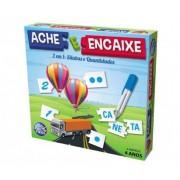 Brinquedo Educativo Ache e Encaixe Sílabas e Quantidades