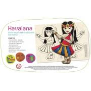 Brinquedo Educativo Artesanato Boneca Havaiana