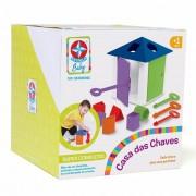 Brinquedo Educativo Casa das Chaves Estrela