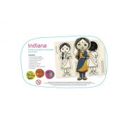 Brinquedo Educativo de Artesanato Boneca Indiana