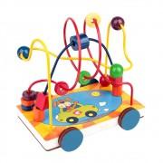 Brinquedo Educativo de Madeira Aramado Carrinho