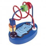 Brinquedo Educativo de Madeira Aramado Mini Elefante