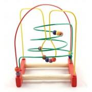 Brinquedo Educativo de Madeira Aramado  Montanha Russa Cônica