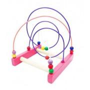 Brinquedo Educativo de Madeira Aramado Montanha Russa Looping