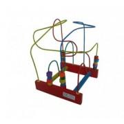 Brinquedo Educativo de Madeira Aramado Montanha Russa M