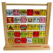 Brinquedo Educativo de Madeira Associando e Aprendendo